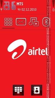 Airtel theme screenshot