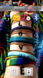 Love Band Hq tema screenshot