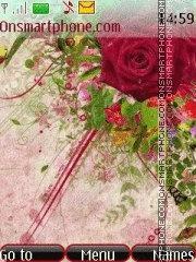 Red rose 3 theme screenshot