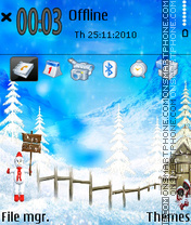 Holiday 03 theme screenshot