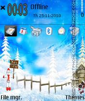 Скриншот темы Holiday 03