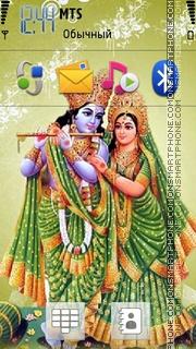 Radhakrishna 04 es el tema de pantalla