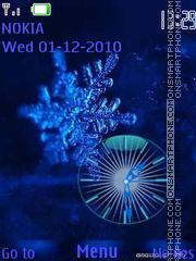Snowflake theme screenshot