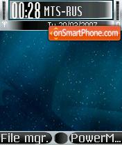 Скриншот темы Deep Space