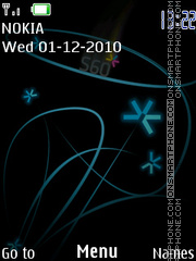 Flowers S60 147 theme screenshot