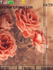 Orange rose 4 theme screenshot