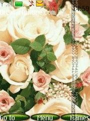 Many roses es el tema de pantalla