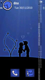 Silhouette Lovers v5 theme screenshot