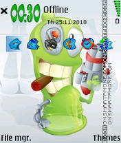 Bug Green theme screenshot