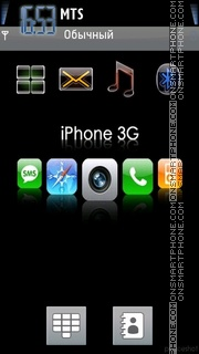 IPhone 3g theme screenshot