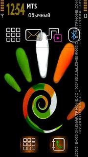 Tri Colour theme screenshot