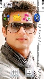 Shahid Kapoor 01 theme screenshot
