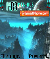 Space2 vitaxa68 theme screenshot