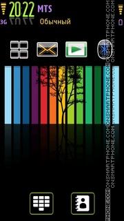 Rainbow 08 tema screenshot
