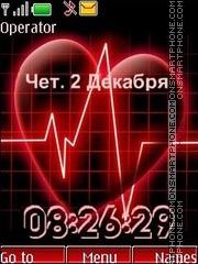 Heart swf theme screenshot