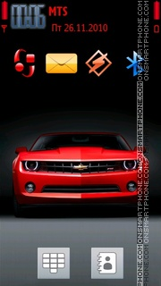 Скриншот темы Camaro 09