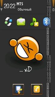 Xd tema screenshot