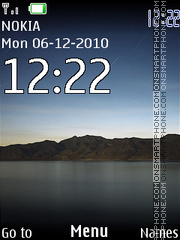 iPad Clock 247 theme screenshot