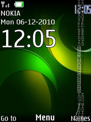 Clock 143 theme screenshot