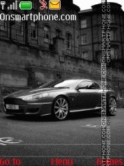 Aston Martin theme screenshot