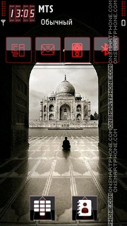 Скриншот темы Taj Mahal 04