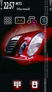 Red Benz Theme-Screenshot