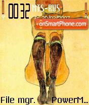 Egon Schiele es el tema de pantalla