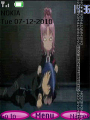 Amu i Ikuto theme screenshot