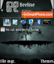 Night Dreams 4 theme screenshot