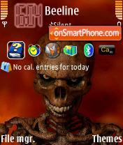 Скриншот темы Dead Skul