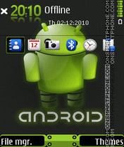 Android 09 tema screenshot