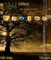 Tree theme screenshot