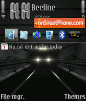 Type E theme screenshot