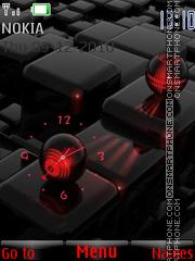 Swf 3d ball theme screenshot