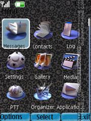 Clock-N1 theme screenshot