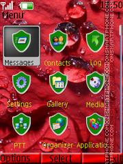 Clock-N2 tema screenshot