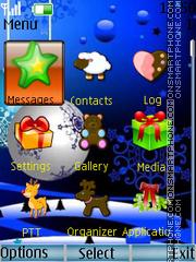Скриншот темы Christmas6