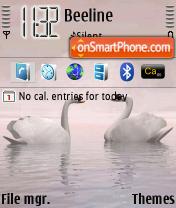 Swans theme screenshot