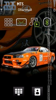 Nissan 03 theme screenshot