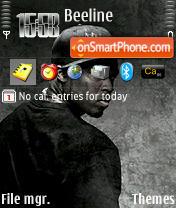 Скриншот темы 50 Cent