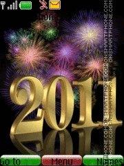 Happy 2011 theme screenshot
