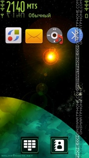 Space Light theme screenshot