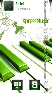 Xpress Music 06 theme screenshot