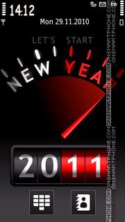 Happy New Year 2011 05 es el tema de pantalla