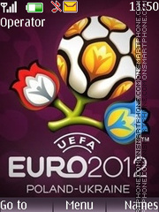 Euro 2012 tema screenshot