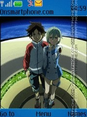 Eureka SeveN theme screenshot