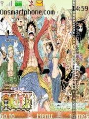 One Piece 2 years later theme screenshot