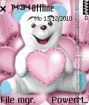 Taddy's love tema screenshot