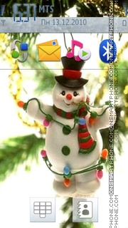 Snowman es el tema de pantalla
