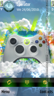 XBox360 theme screenshot